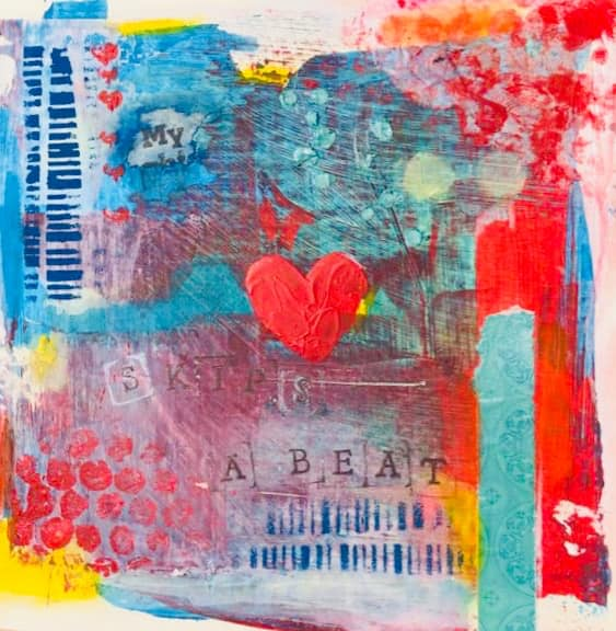 Workshop art journaling Curacao